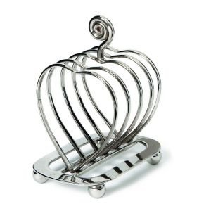 Heart Design Toast Rack