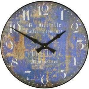 Blue French Cheesemakers Clock