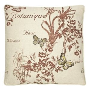 Botanical Print Cushion - Butterflies I