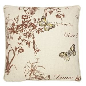 Botanical Print Cushion - Butterflies II