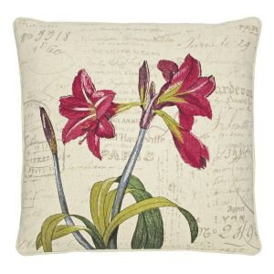Amarylis Embroidered Cushion
