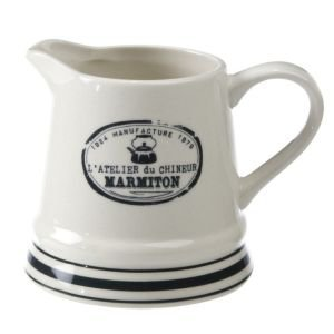 Marmiton Blue and White Milk Jug 33cl