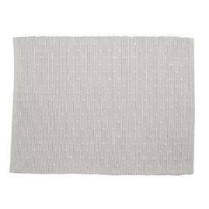 Set of 2 Cotton Placemats - Stone