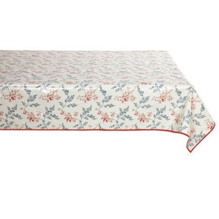Rectangular Oilcloth Tablecloth - Wild Cherry