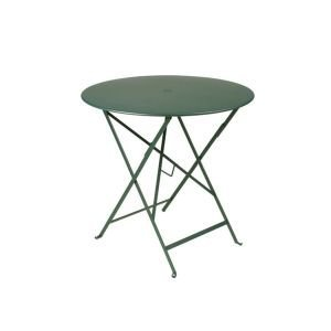 Bistro Black Garden Table 77cm Diameter