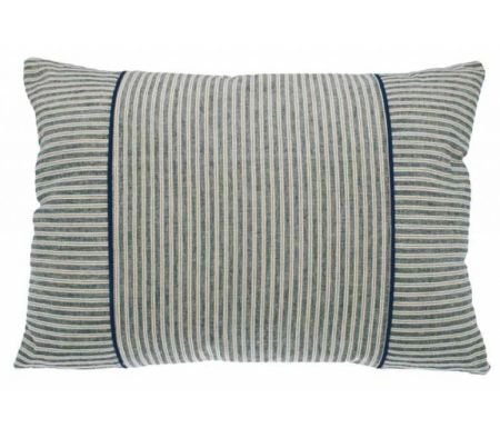 Hampton stripe rectangular cushion