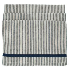 Hampton ticking table runner