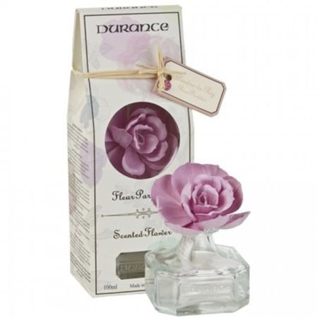 Durance Scented Flower Diffuser-Rice powder