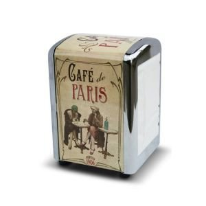 Bistro style serviette dispenser- Cafe