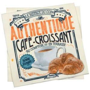 Retro Paper Serviettes-Authentique