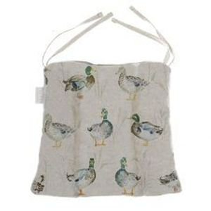 Duck Fabric Chair Pad with ties