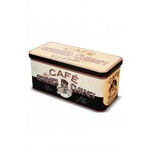 Georges Clounet Metal Storage Tin