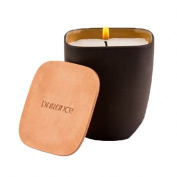 Durance Scented Candle With Copper Lid-Golden Fire