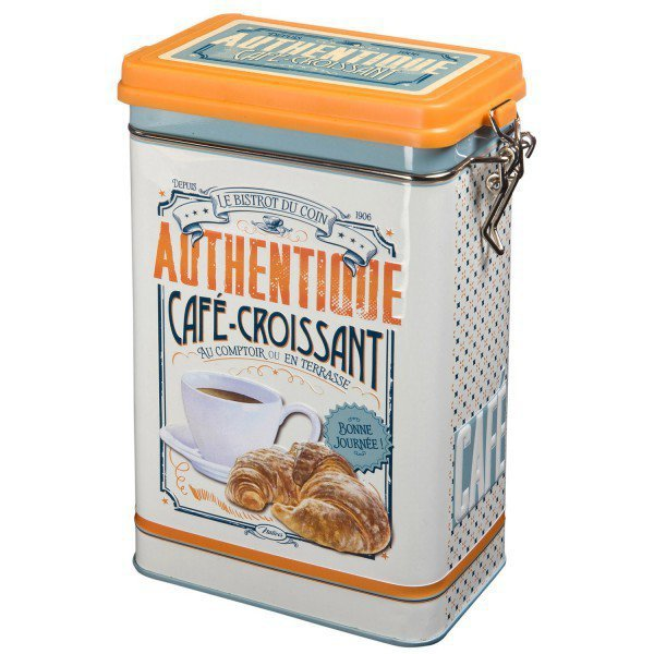 Authentique Croissant Storage Tin