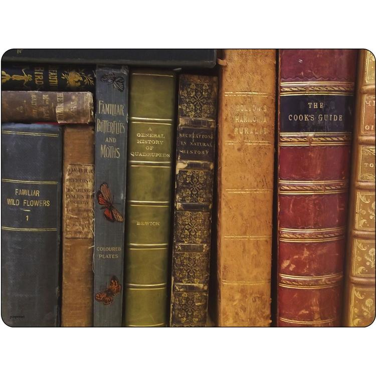 Set of 6 Library book Placemats