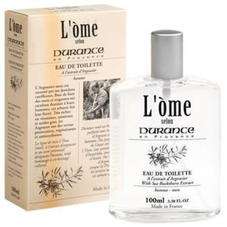 L'Ome Men's Eau de Toilette - Sea Buckthorn - French Toiletries