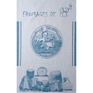 French Tea Towel - Goats Cheese
