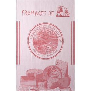 French Tea Towel - Fromage