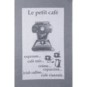 French Tea Towel - Le Petit Cafe