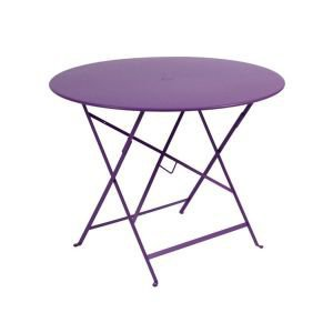 Bistro Black Garden Table 96cm Diameter