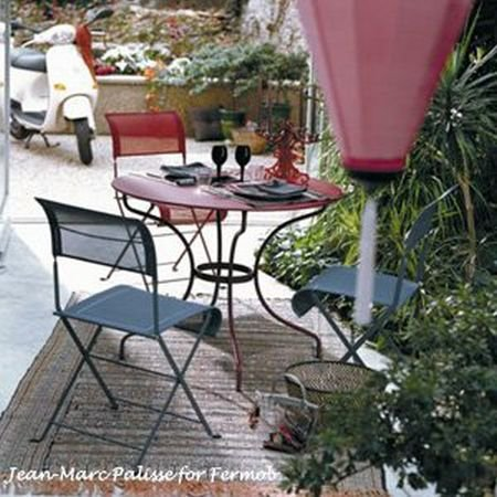French Garden Furniture Set Opera 67 Table And 2 Dune