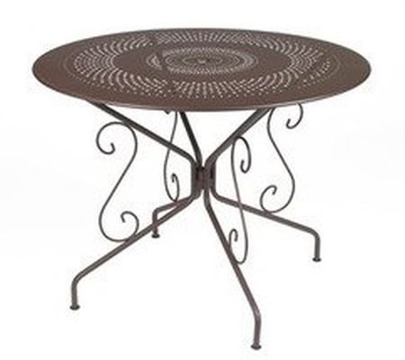 Fermob French Garden Table Montmartre Round French Metal