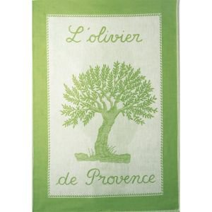 French Tea Towel - Olive Tree