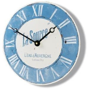 La Source Enamel Clock 36cm