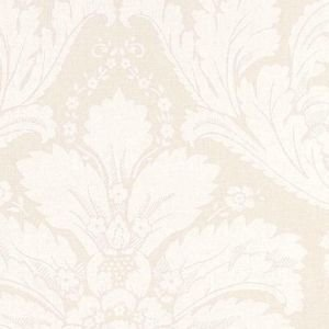 Ivory Damask Wipe Clean Oilcloth Tablecloth