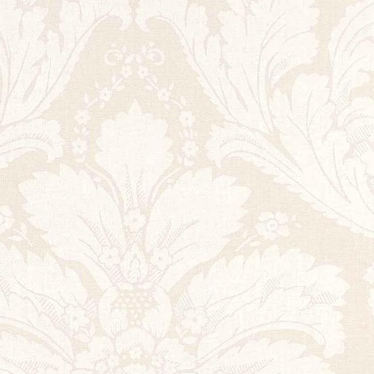 Ivory Damask Oilcloth