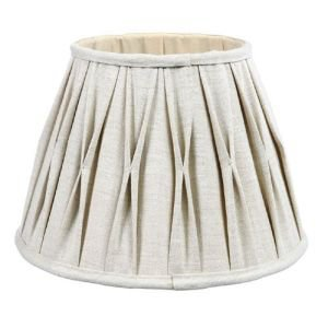 Linen Tuck Pleat Shade 20cm