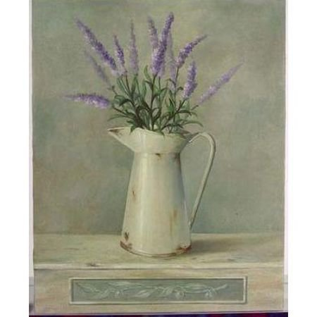 Lavender Jug Canvas - French Art