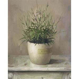Lavender Pot Canvas