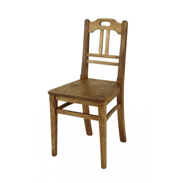 Comptoir de famille pair of terroir pine chairs kitchen - Table comptoir de famille ...