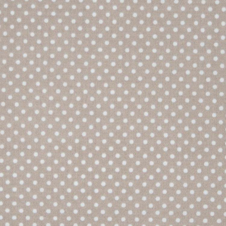 Latte Small Dot Oilcloth