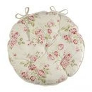 Round Kitchen Chair Pads with Ties