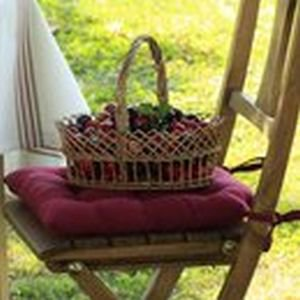 French Garden Chair Pads